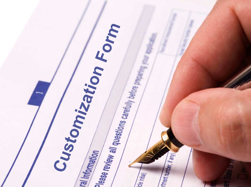 Sign your custom survey agreement
